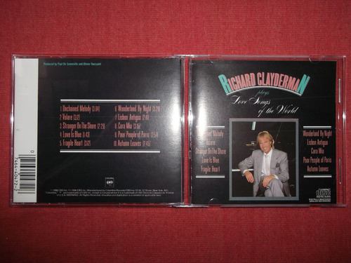 richard clayderman love songs of the world cd usa 1990 mdisk