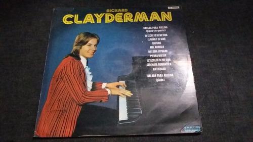 richard clayderman lp vinilo piano clasica