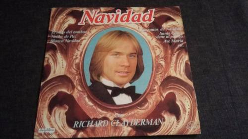 richard clayderman navidad lp vinilo piano jazz clasica