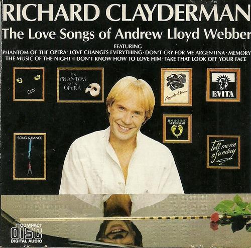 richard clayderman the love songs of andrew lloyd webber