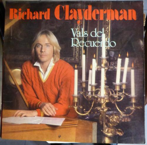 richard clayderman - vals del recuerdo  disco vinilo lp
