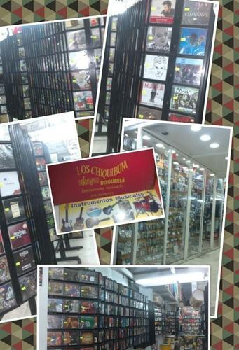 richard coleman lote de 3 cd + 1 dvd - los chiquibum