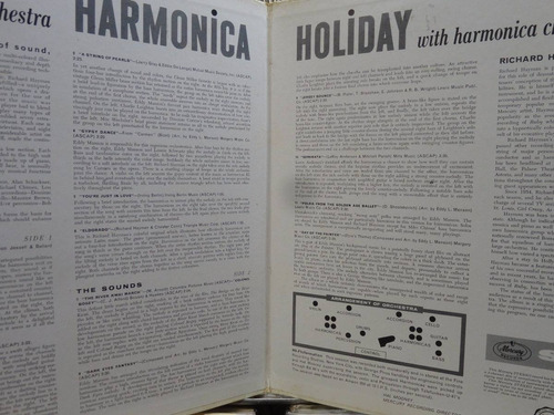 richard hayman and his orchestra harmonica holiday lp stereo