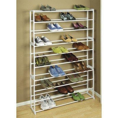 richards homewares 50 pares de zapatos estante torre de alm