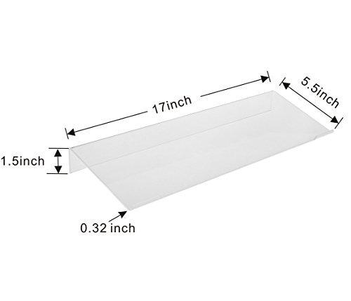 richboom soporte para teclado acrilico transparente inclinad