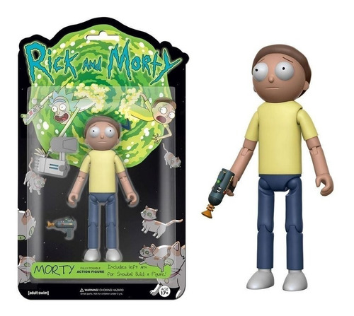 rick and morty  - funko pop - cartoon - mr meesseks-  morty