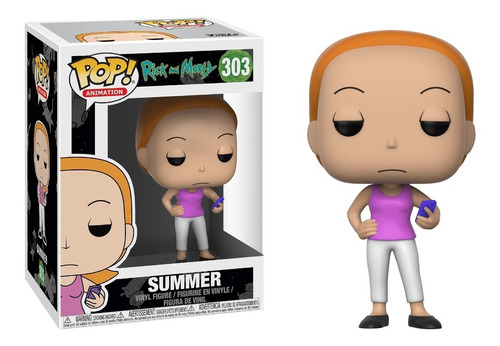 rick and morty  - funko pop - summer - chase - morty - rick