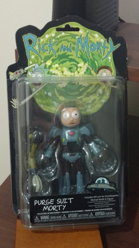 rick and morty - purge suit morty funko