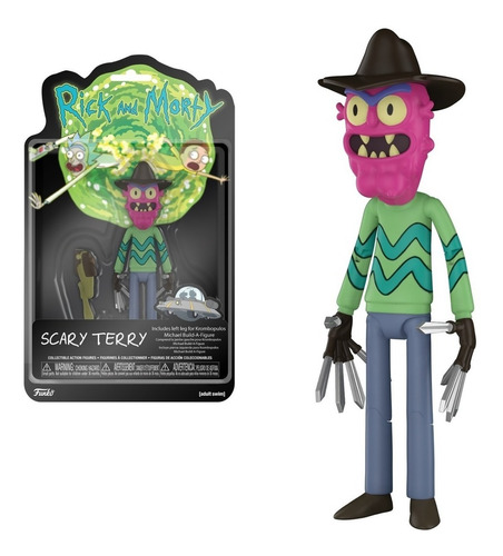 rick and morty scary terry funko original replay
