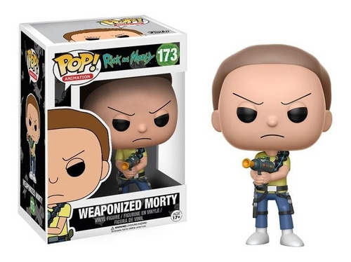 rick and morty weaponized morty figura simil funko pop
