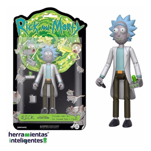 rick articulado funko  rick and morty figura de acción