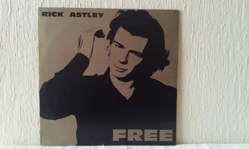 rick astley - free vinilo full made in brazil imperdible!