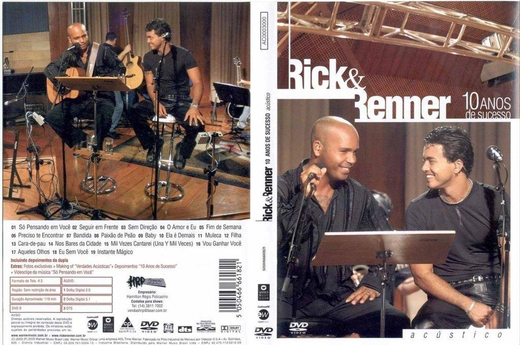 rick e renner 10 anos de sucesso acustico