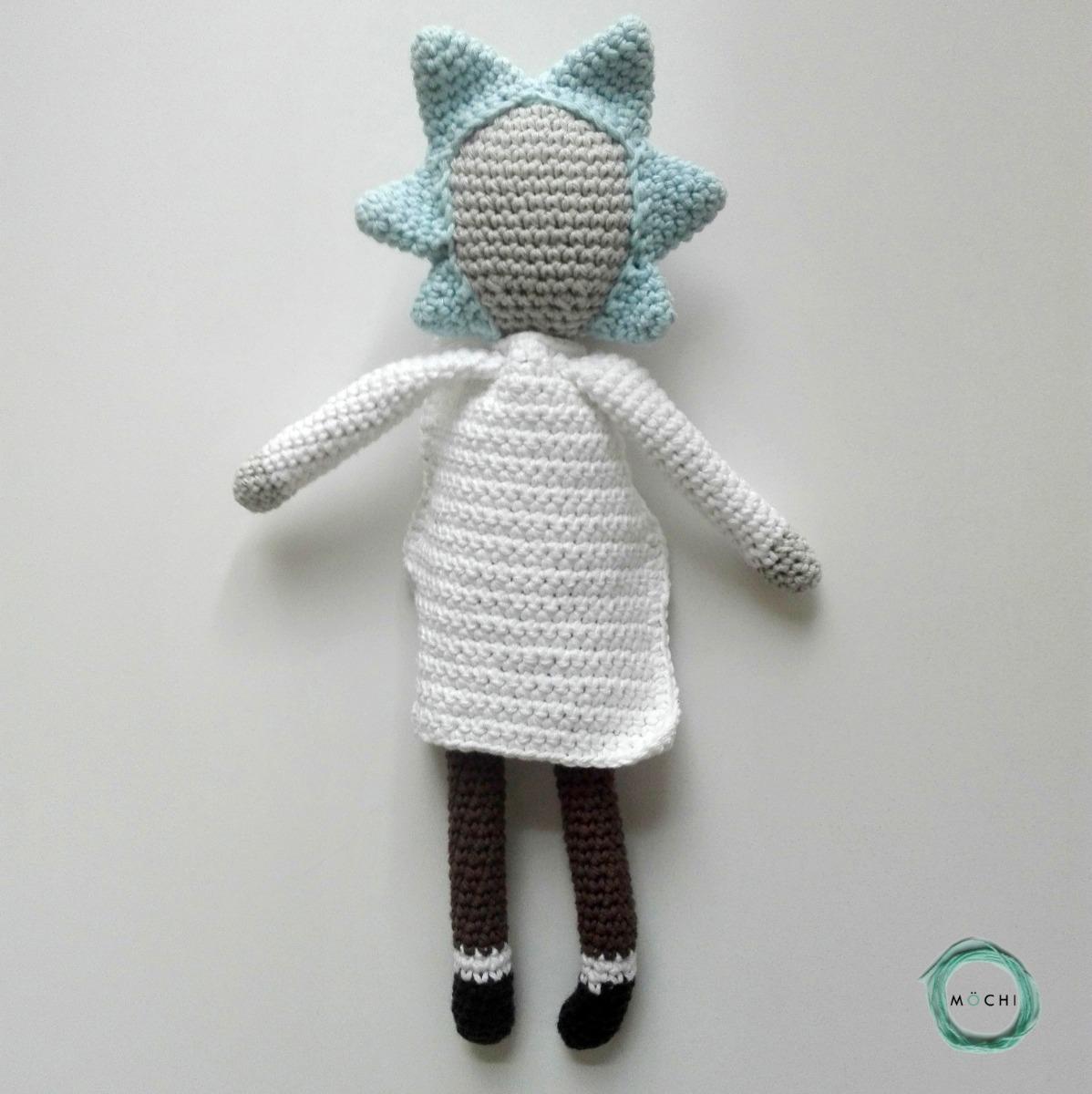 crochet rick and morty   Tumblr   1200x1198