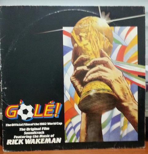 rick wakeman g'olé  1983  (lp)