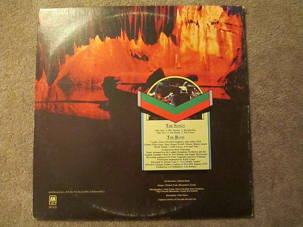 Rick Wakeman: Journey To The Center Of The Earth.vinil ...