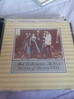 **rick wakeman** **six wifes of henry viii**  **cd**