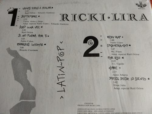 ricki lira lp latin pop r