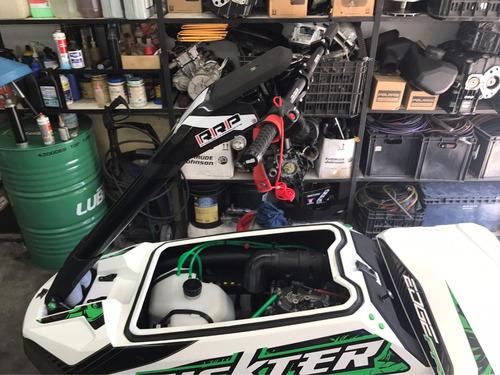 rickter edge fr 701 cc super equipado con trailer