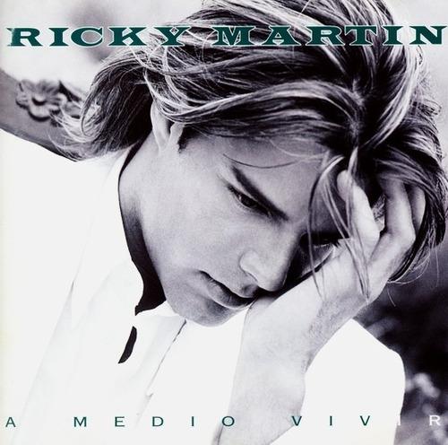 ricky martin - a medio vivir  cd