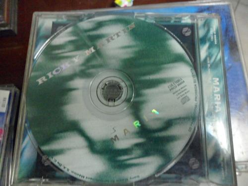ricky martin cd  maria promo