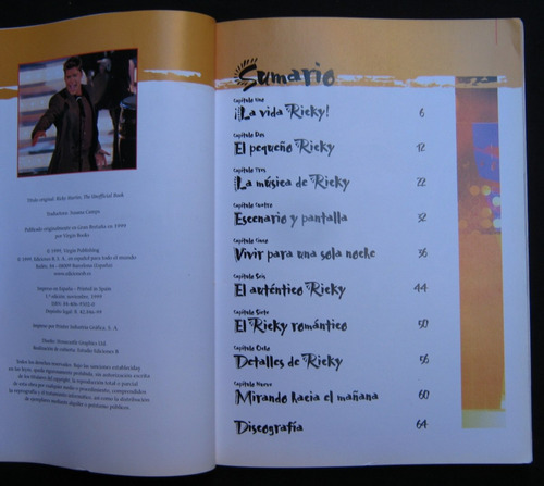 ricky martin edición no autorizada kathie bergquist