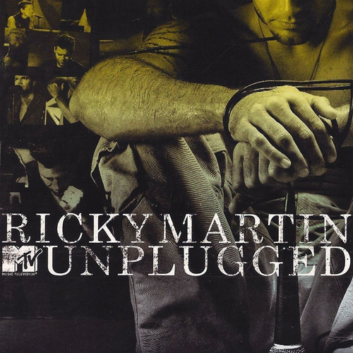 ricky martin - mtv unplugged cd + dvd