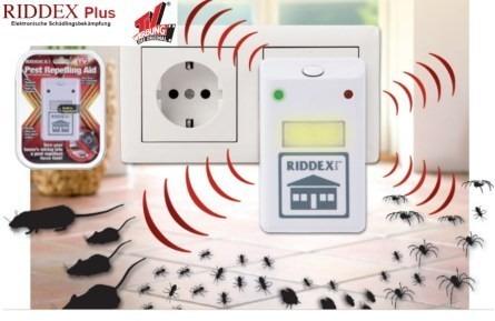 Riddex repelente de ratones e insectos original de la tv - Ratones en casa ...