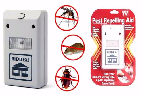 riddex repelente electronico pesticida-insectos- roedor