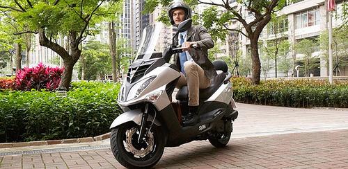 ride scooter sym joy