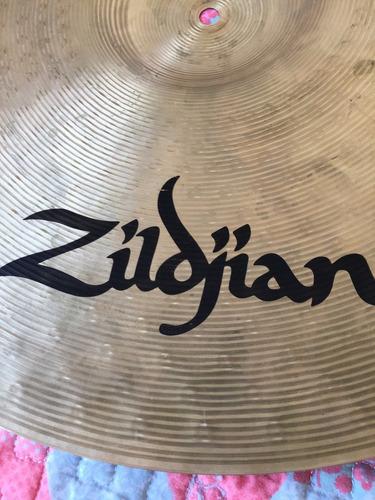 ride zildjian zht 20  en perfecto estado