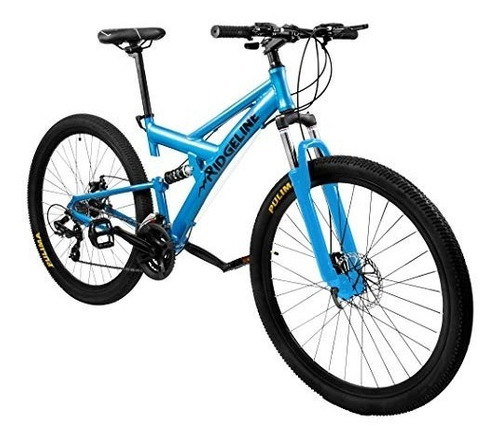 ridgeline mountain bike full suspension 19  frame
