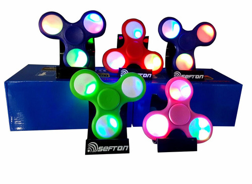 ridget spinner con luces ridget spinners juego anti estres