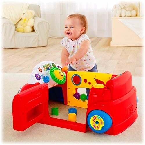 45cbc2fd0 Ríe Y Aprende Auto De Aprendizaje Rojo Fisher Price Carro ...