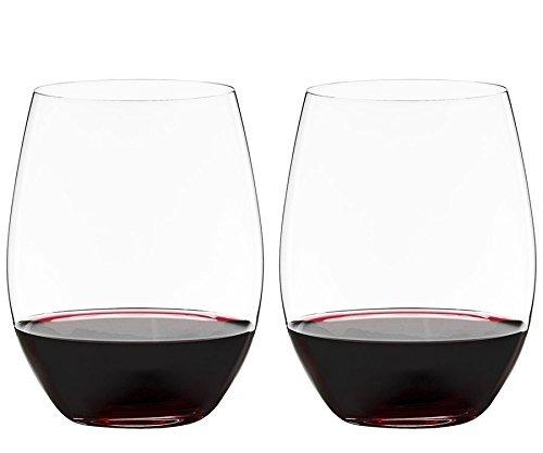 riedel o vino vaso cabernet / merlot, juego de 4