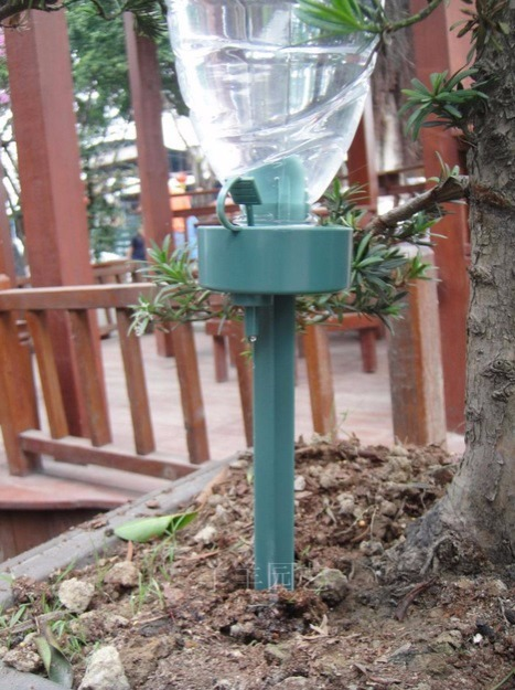 Riego por goteo para jardin plantas ajustable automatico for Riego automatico jardin
