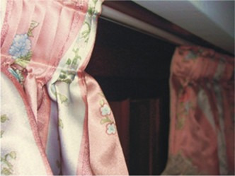 riel americano para cortinas completo por metro - belgrano