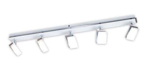 riel barral 5 luces con lamparas led alta potencia buena luz