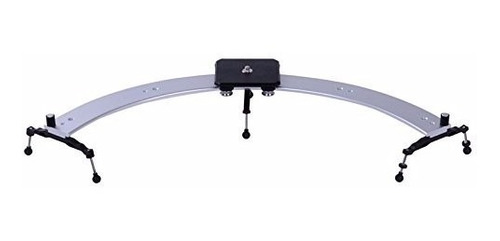 riel circular dolly slider curvo con cabezal video filmacion