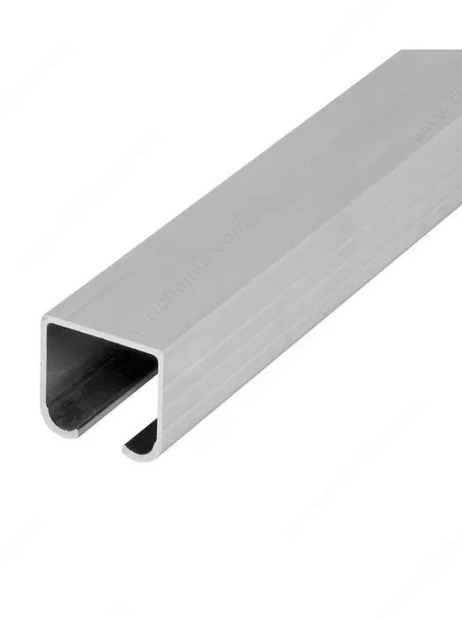Riel de aluminio de 2mts para puerta corrediza bs 15 for Riel para puerta corrediza