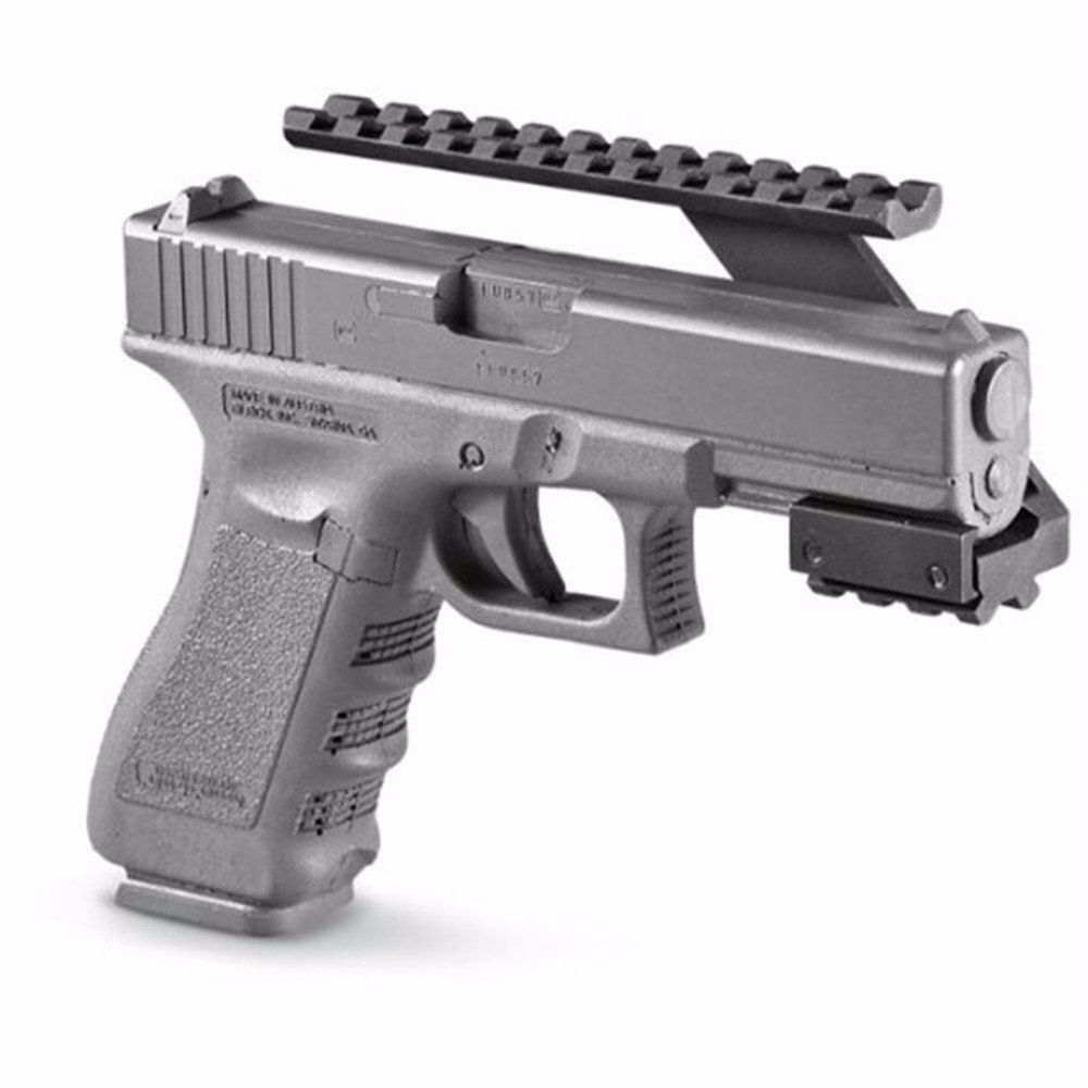 Riel De Montaje Airsoft Picatinny Glock 17 19 25 22 23 30 32 - S ...