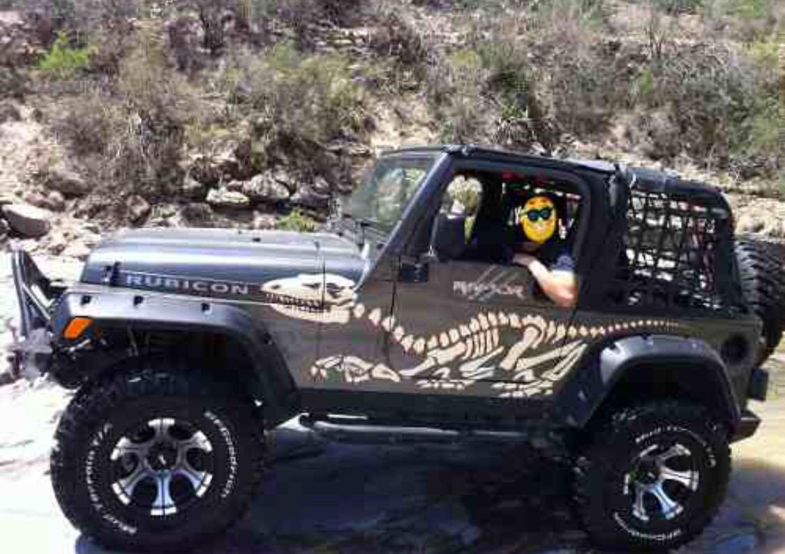Riel Para Bikini Jeep Wrangler Tj 97-06 Windshield - $ 1,119.00 en ...