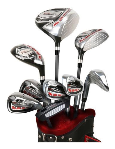 rieragolf set completo golf hombre powerbilt grafito 25% off
