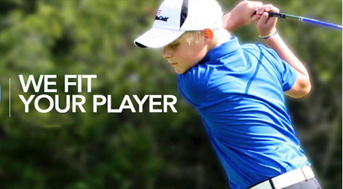 rieragolf set junior golf us kids green 9-11 años #1 mundo