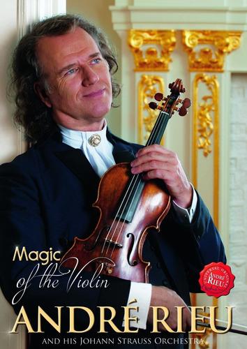 rieu andre magic of the violin dvd nuevo