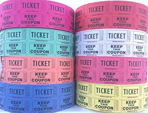 rifa de boletos - boletos para la rifa 50/50 total 8.000 (4