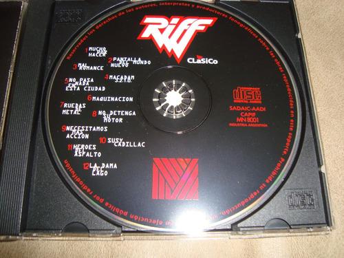 riff  clasico  cd argentino musimundo como nuevo
