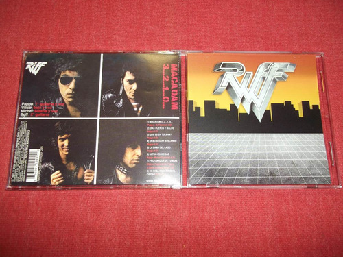 riff - macadam cd argentino ed 2006 mdisk