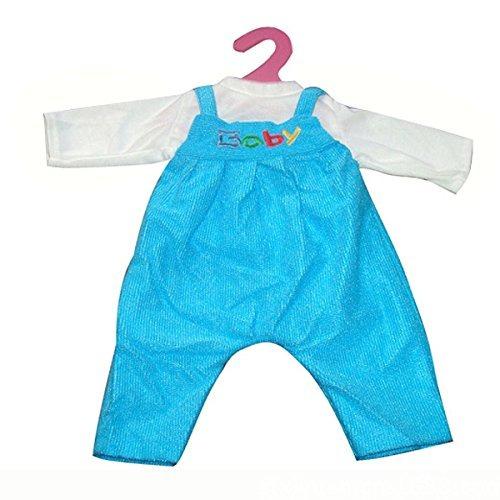 Rifi Baby Dolls Clothes Rompers Jumpsuit Chaqueta Traje Azul ... 5944da97fde0