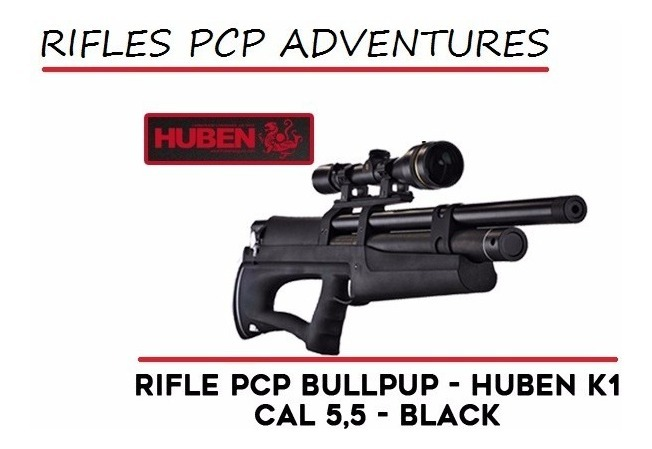Rifle Aire A Comprimido Pcp Huben K1 5 5 Cal